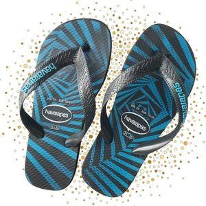 HAVAIANAS Size 31-32 Kids Thongs Flip Flops
